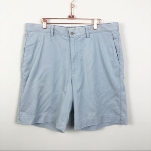TOMMY BAHAMA | Light Blue Flat Front Shorts Sz 36